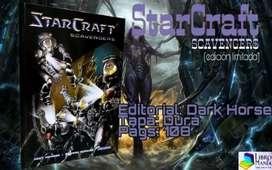 Starcraft: Scavengers. Cómic en tapa dura.