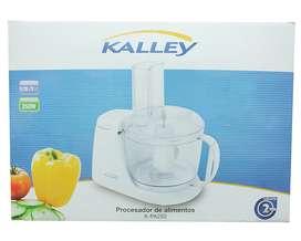 Procesador de alimentos marca kalley KPA250 NUEVO