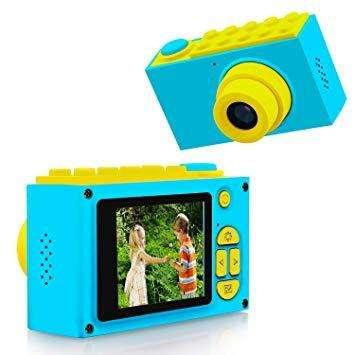 Cámara Digital Para Niños Fotos Vídeos Con Juego Incorporado 0