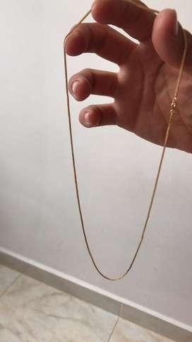 Se vende cadena de oro italiano