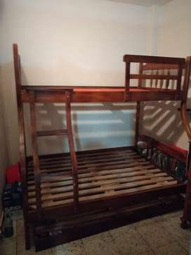 Vendo cama litera de Guayacán