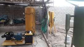 Ofrecemos servicio de arenado y pintura en Camana, (remolques, carretas, estructuras, metalmecánicas, maquinarias, aros,