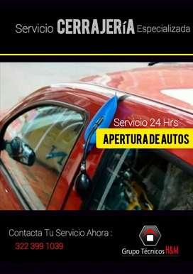 Servicio de Abrir Carros en Funza, Servicio de Cerrajería 24Hrs - Cerrajería Para Autos - Cerraduras de Seguridad Funza