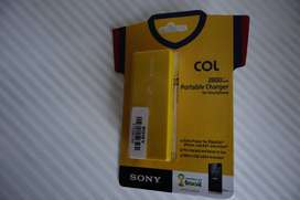Sony Usb Bateria Portable 2800mah
