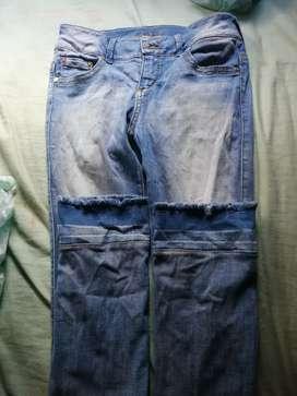 Pantalones en buen uso