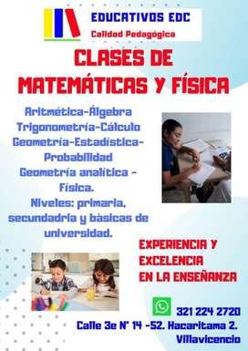 3212242720 Clases de matemáticas, física, electrónica, circuitos, informática y más...