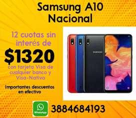 Samsung A10 Nacional