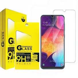 Vidrio templado plano Samsung A01 a medida