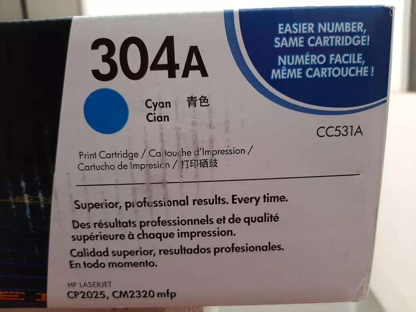 Cartucho de Toner HP LASERJET 304a Cian 0
