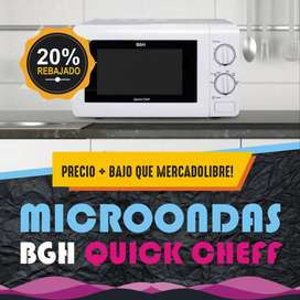 Microondas Bgh Quick Chef B120m16 20l