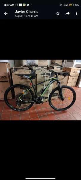Bicicleta montañera talla M
