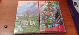 Videojuegos Nintendo Switch Nuevos y Sellados