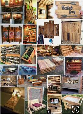 Muebles en Pallets (madera)