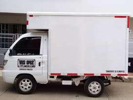 camioneta tipo furgón Hafei 2012.