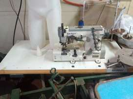Maquina de coser collareta industrial