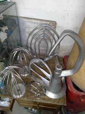 Implementos para batidoras mojadoras panaderia pasteleria hornos pateleria