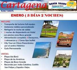 TOUR CARTAGENA SALIDA ENERO 30 DEL 2020