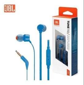 Audifonos Alambricos JBL T110 de Cable In-Ear