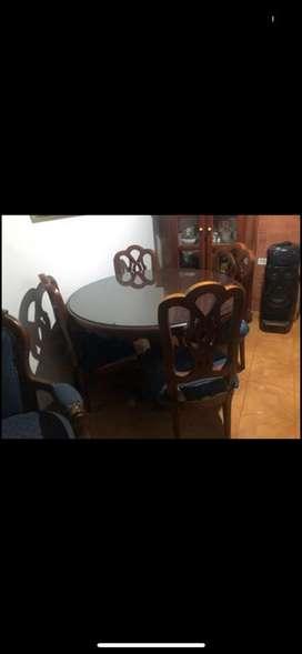 Mesa comedor 4 puestos madera