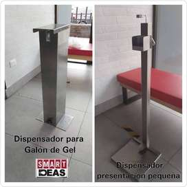 Pedestal dispensador