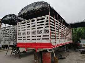 Se vende carrocería de 7 metros alcar