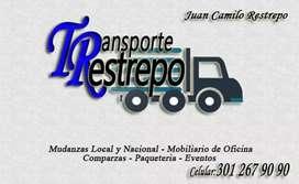 Servicio de Transporte y Mudanza en general