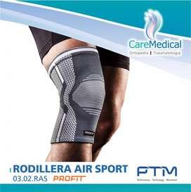 Rodillera Elástica Air Sport Deportiva Profit PTM