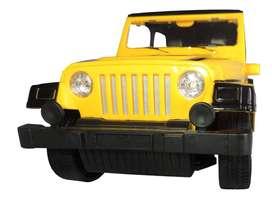 Jeep Control Remoto Puertas Automaticas Eléctricas Batería Recargable Luces Amarillo
