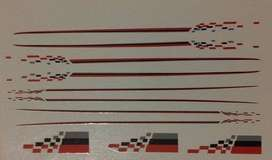 Nismo Stripes Calcas Para Auto Maqueta