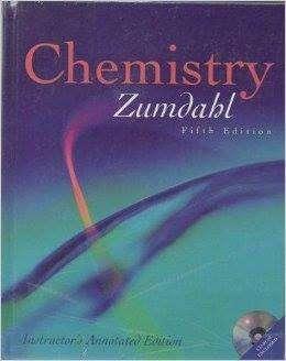 Química General. Zumdahl. 5 Ed Inglés.Houghton Mifflin .2000 con CD 0