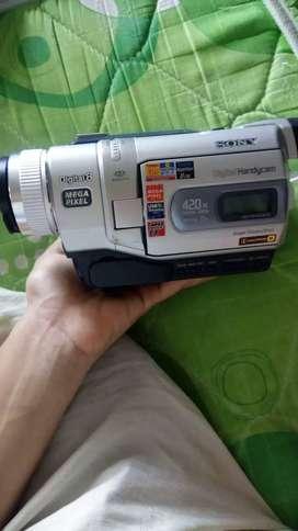 Videocamara handycam sony gangaso