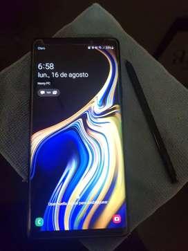 Vendo Celular Samsung Note 9 124gb liberado