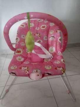 Silla Bouncer Safari Pink