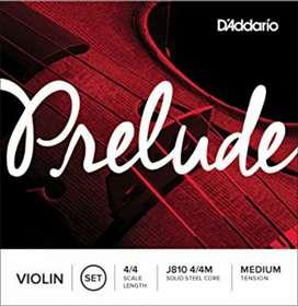 Juego de Cuerdas para Violin Nuevas
