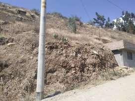 Terreno Huancachupa 100m2 a menos de 20 min de Huánuco
