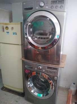 Lavadora y Secadora por aparte Lg