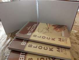 Bitacora Canson Block A4 Papel Bond 90 Grs