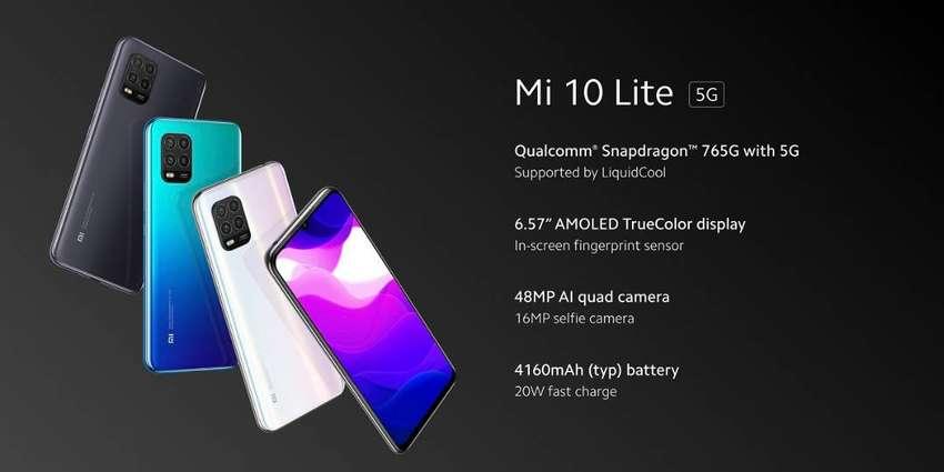 Xiaomi Mi 10 Lite Libres 5G Funda Gtia Global 0