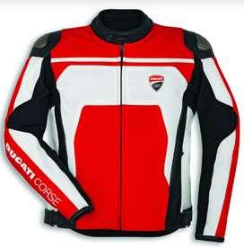 Chaqueta De Cuero Ducati Corse C4 Prenda Certificada.