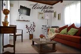 ol83 - Cabaña para 2 a 5 personas con cochera en El Calafate