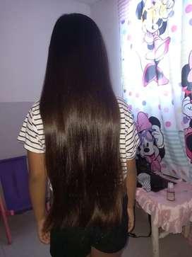 Vendo cabello virgen