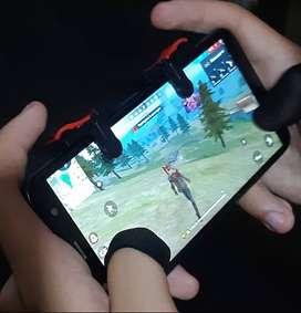 Gatillos y guantes de pulgar para celular
