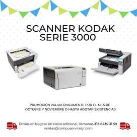 Escaner Kodak I3200,i3250,i3400,i3500, Scanner, ¡promoción!