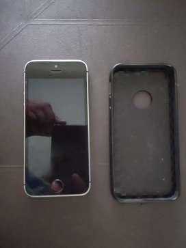 Vendo iPhone Se en excelentes condiciones.