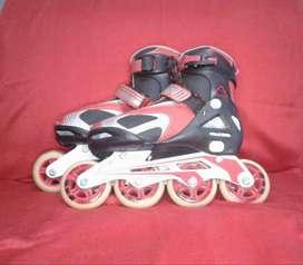 patines en linea semi profesionales talla 35 a 38 marca speed derby