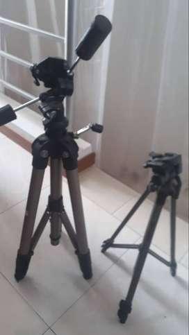 Tripodes para cámaras