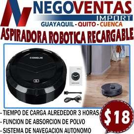 ASPIRADORA ROBOTICA RECARGABLE EN DESCUENTO EXCLUSIVO DE NEGOVENTAS