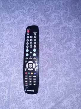 Control remoto televisor
