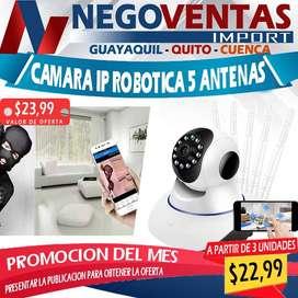 CAMARA IP ROBOTICA DE 5 ANTENAS