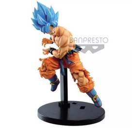Figura Goku Blue Dragon Ball Z Broly  Película